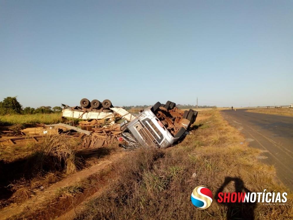 Tragédia: Motorista morre em acidente na MT 170 em Juína