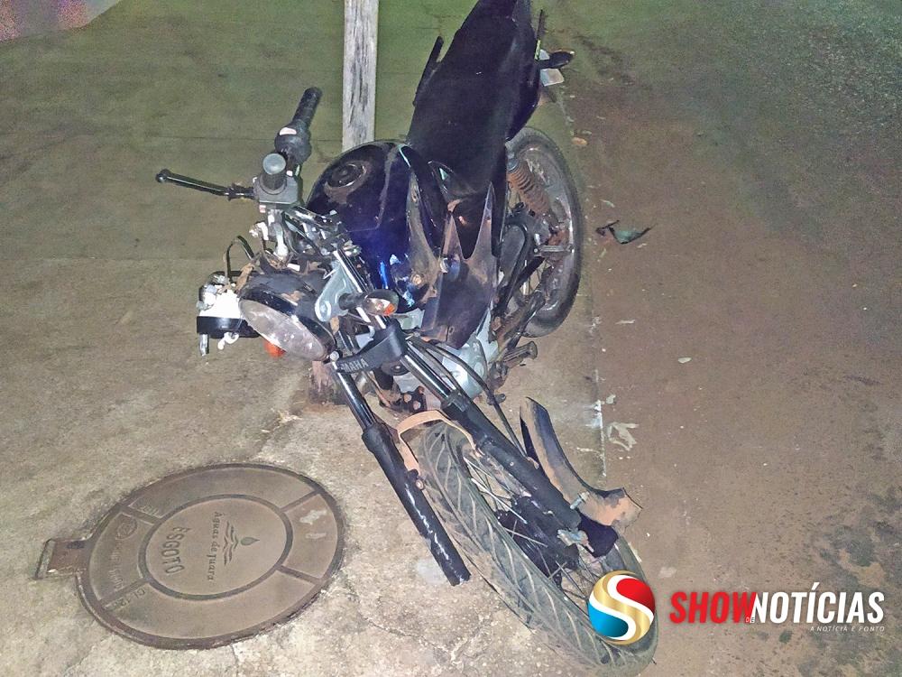 Menor de idade se envolve em acidente envolvendo mais dois veículos em Juara.