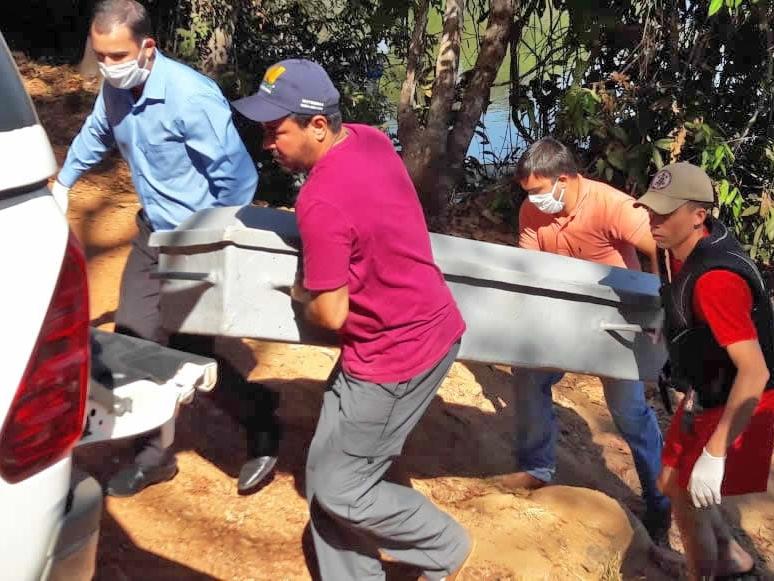 Bombeiros localizam corpo do Zé do Avião, morto no Rio Arinos em Juara.
